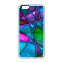 Imposant Abstract Teal Apple Seamless iPhone 6/6S Case (Color)