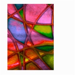 Imposant Abstract Red Large Garden Flag (Two Sides)