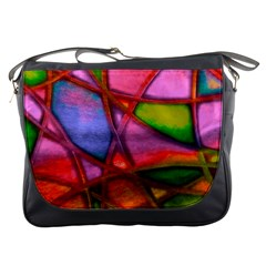 Imposant Abstract Red Messenger Bags