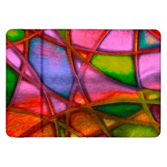 Imposant Abstract Red Samsung Galaxy Tab 8.9  P7300 Flip Case