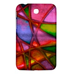 Imposant Abstract Red Samsung Galaxy Tab 3 (7 ) P3200 Hardshell Case