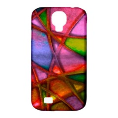 Imposant Abstract Red Samsung Galaxy S4 Classic Hardshell Case (PC+Silicone)