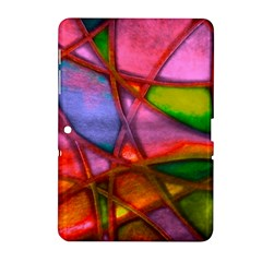 Imposant Abstract Red Samsung Galaxy Tab 2 (10.1 ) P5100 Hardshell Case