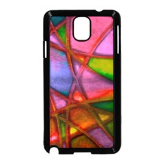 Imposant Abstract Red Samsung Galaxy Note 3 Neo Hardshell Case (Black)