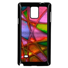 Imposant Abstract Red Samsung Galaxy Note 4 Case (Black)