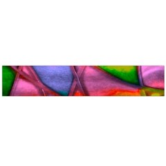 Imposant Abstract Red Flano Scarf (large)
