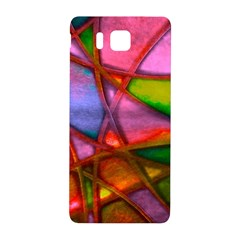 Imposant Abstract Red Samsung Galaxy Alpha Hardshell Back Case