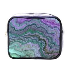 Keep Calm Teal Mini Toiletries Bags