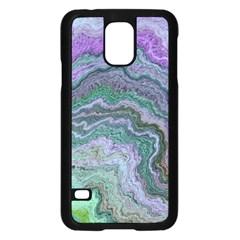 Keep Calm Teal Samsung Galaxy S5 Case (Black)