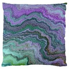 Keep Calm Teal Standard Flano Cushion Cases (One Side)
