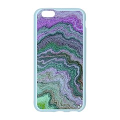 Keep Calm Teal Apple Seamless iPhone 6/6S Case (Color)