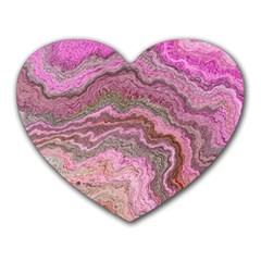 Keep Calm Pink Heart Mousepads