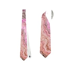 Keep Calm Pink Neckties (One Side)