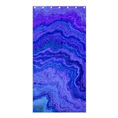 Keep Calm Blue Shower Curtain 36  x 72  (Stall)