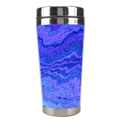 Keep Calm Blue Stainless Steel Travel Tumblers
