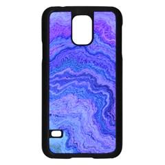 Keep Calm Blue Samsung Galaxy S5 Case (Black)