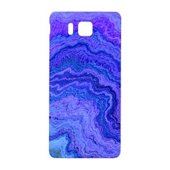 Keep Calm Blue Samsung Galaxy Alpha Hardshell Back Case