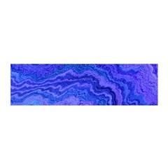 Keep Calm Blue Satin Scarf (oblong)