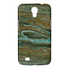 brown And green Marble Stone Print Samsung Galaxy Mega 6.3  I9200 Hardshell Case