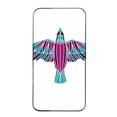 Stained Glass Bird Illustration  Apple iPhone 4/4s Seamless Case (Black)