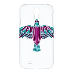 Stained Glass Bird Illustration  Samsung Galaxy S4 I9500/I9505 Hardshell Case