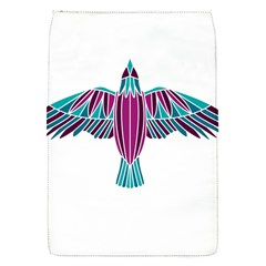 Stained Glass Bird Illustration  Flap Covers (S)