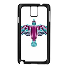 Stained Glass Bird Illustration  Samsung Galaxy Note 3 N9005 Case (Black)