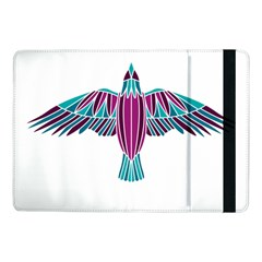 Stained Glass Bird Illustration  Samsung Galaxy Tab Pro 10.1  Flip Case