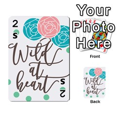 Wild At Heart Flowers Playing Cards 54 Designs