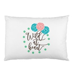 Wild At Heart Flowers Pillow Cases