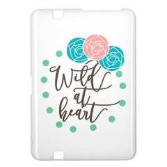 Wild At Heart Flowers Kindle Fire HD 8.9
