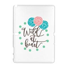 Wild At Heart Flowers Samsung Galaxy Note 10.1 (P600) Hardshell Case