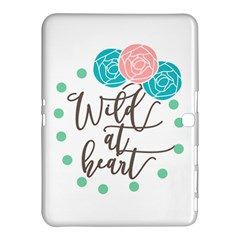 Wild At Heart Flowers Samsung Galaxy Tab 4 (10.1 ) Hardshell Case