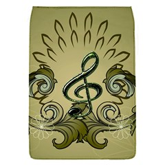 Decorative Clef With Damask In Soft Green Flap Covers (S)