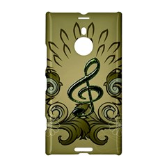 Decorative Clef With Damask In Soft Green Nokia Lumia 1520