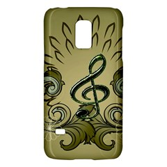 Decorative Clef With Damask In Soft Green Galaxy S5 Mini
