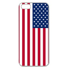 Usa1a Apple Seamless iPhone 5 Case (Clear)