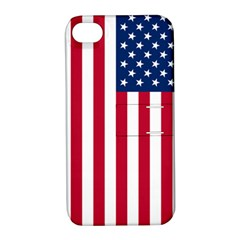 Usa1a Apple iPhone 4/4S Hardshell Case with Stand
