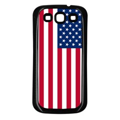 Usa1a Samsung Galaxy S3 Back Case (Black)
