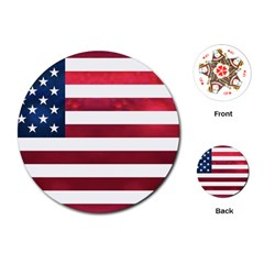 Usa2 Playing Cards (round)