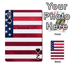 Usa2 Playing Cards 54 Designs