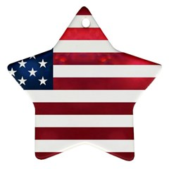 Usa2 Star Ornament (Two Sides)