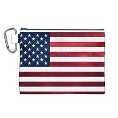 Usa2 Canvas Cosmetic Bag (L)