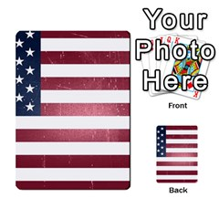 Usa3 Multi-purpose Cards (Rectangle)