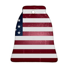 Usa3 Bell Ornament (2 Sides)