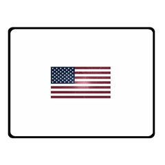 Usa3 Double Sided Fleece Blanket (Small)