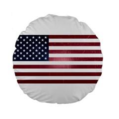 Usa3 Standard 15  Premium Flano Round Cushions