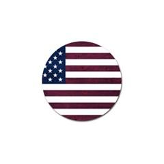 Usa4 Golf Ball Marker