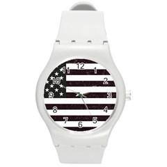 Usa6 Round Plastic Sport Watch (M)