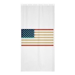 Usa7 Shower Curtain 36  x 72  (Stall)